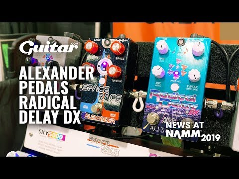 Demo: Speedy Tones From Alexander Pedals' New Radical Delay DX #NAMM2019