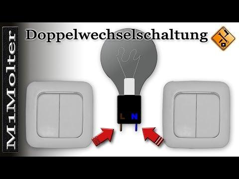 Doppelwechselschaltung - Anleitung Anklemmen Wie? (Serienschaltung) Von M1Molter