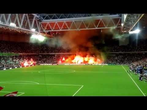 Hammarby IF - Örgryte IS Premiärtifo på Tele2 Arena