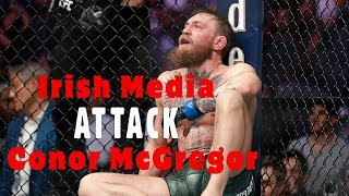 UFC 229: Irish Media Attack Conor McGregor after Khabib Fight (Compilation)