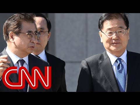 Kim Jong Un meets with South Korean officials