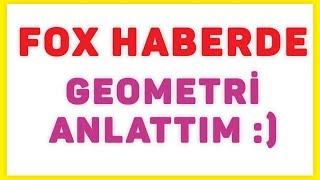 Fox Ana Haberde çember Anlatımım :) Şenol Hoca Matematik