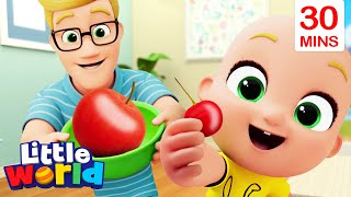 Big And Small Song With Nina And Nico + More Kids Songs & Nursery Rhymes By Little World
