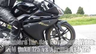 KTM Duke 125 vs Yamaha Yzf R125 | Who