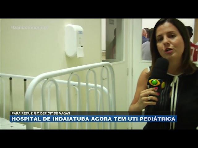 Para reduzir o défict de vagas: hospital de Indaiatuba agora tem UTI pediátrica