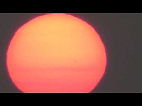 (DAY 3) MASSIVE OBJECT IN FRONT OF THE SUN AUGUST 4, 2010