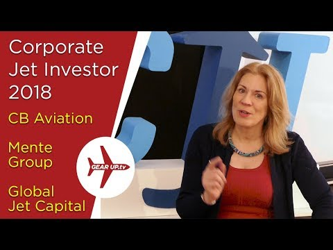 Corporate Jet Investor 2018, Global Jet Capital, Mente Group, AIC Title Service, CB Aviation
