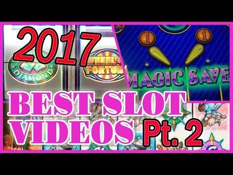 🎉 2017 BEST SLOT Videos PT.2🔥 ✦ WINS of $500++ ✦ Slot Machines w Brian Christopher
