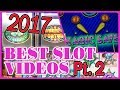 🎉 2017 BEST SLOT Videos PT.2🔥 ✦ WINS of $500++ ✦ Slot Machines w Brian Christopher
