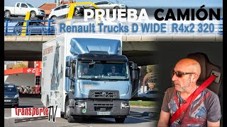 Prueba Camión Renault Trucks WIDE R4X2 320