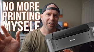 Why I'm no longer going to print photos at home - Canon Pro 10S