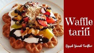 Evde Kolay ve Lezzetli Waffle Tarifi l Şipşak Yemek Tarifleri