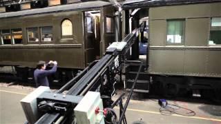 Scorpio Telescopic Camera Crane: TRAIN SCENE