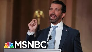Trump Jr. Claims Covid-19 Deaths Down To 'Almost Nothing' | The 11th Hour | MSNBC