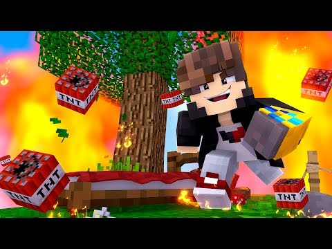 Minecraft: - ESSA CAMA NAO EXPLODE COM TNT - ‹ JUAUM ›