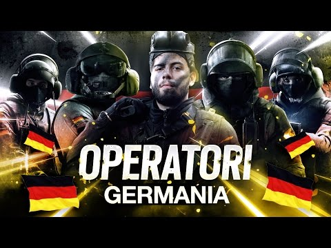 OPERATORI GERMANIA - LE NAZIONALI DI RAINBOW SIX #3