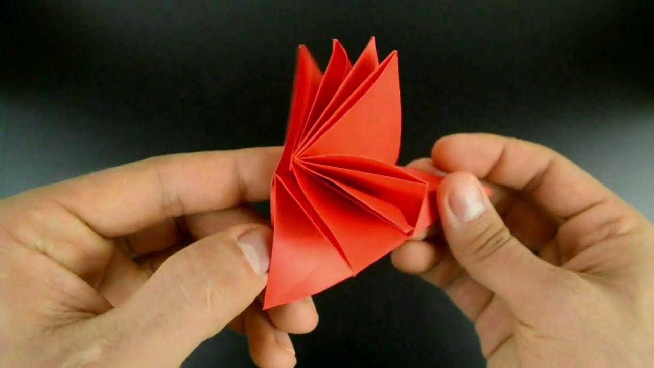 Origami Christmas Flower Poinsettia English Satecubanos Youtube