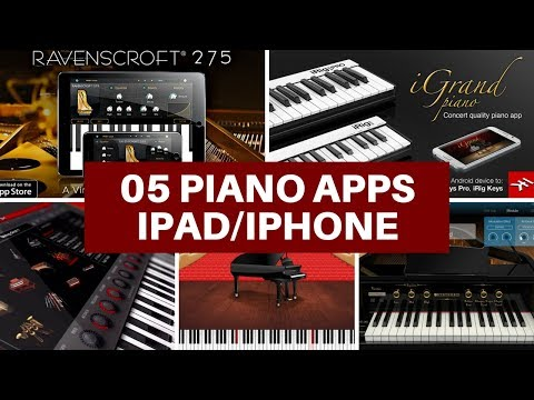 Pianos for iPad and iPhone: comparing 05 piano apps