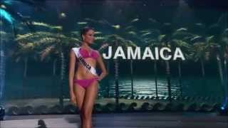 Kaci Fennell,Jamaica! Miss Universe Preliminary