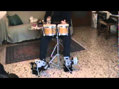 Meinl Percussion FCA5-L Foot Cabasa