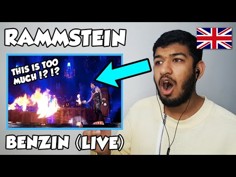 🇬🇧 BRITISH Reacts To Rammstein - Benzin (Live from Madison Square Garden) REACTION