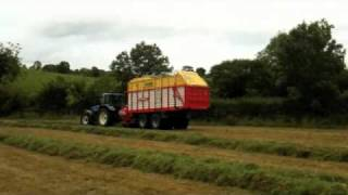 forage wagon silage in county down. northern ireland
