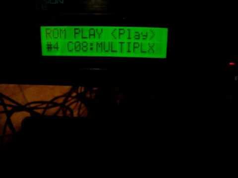Roland R-8 M sound module demo
