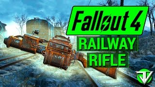 FALLOUT 4 How To Get RAILWAY RIFLE in Fallout 4 Unique Weapon Guide