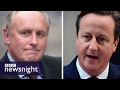 Cameron 'tried to get Daily Mail's editor Paul Dacre sacked' over Brexit - BBC Newsnight