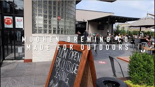 Mudhen Brewing Company: Outside Dining