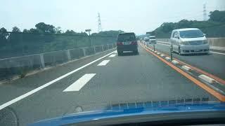 【ドラレコ車載動画】何かがおかしい 和泉ナンバーのトヨタ アルファード