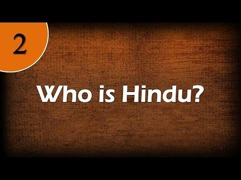 Who is Hindu?