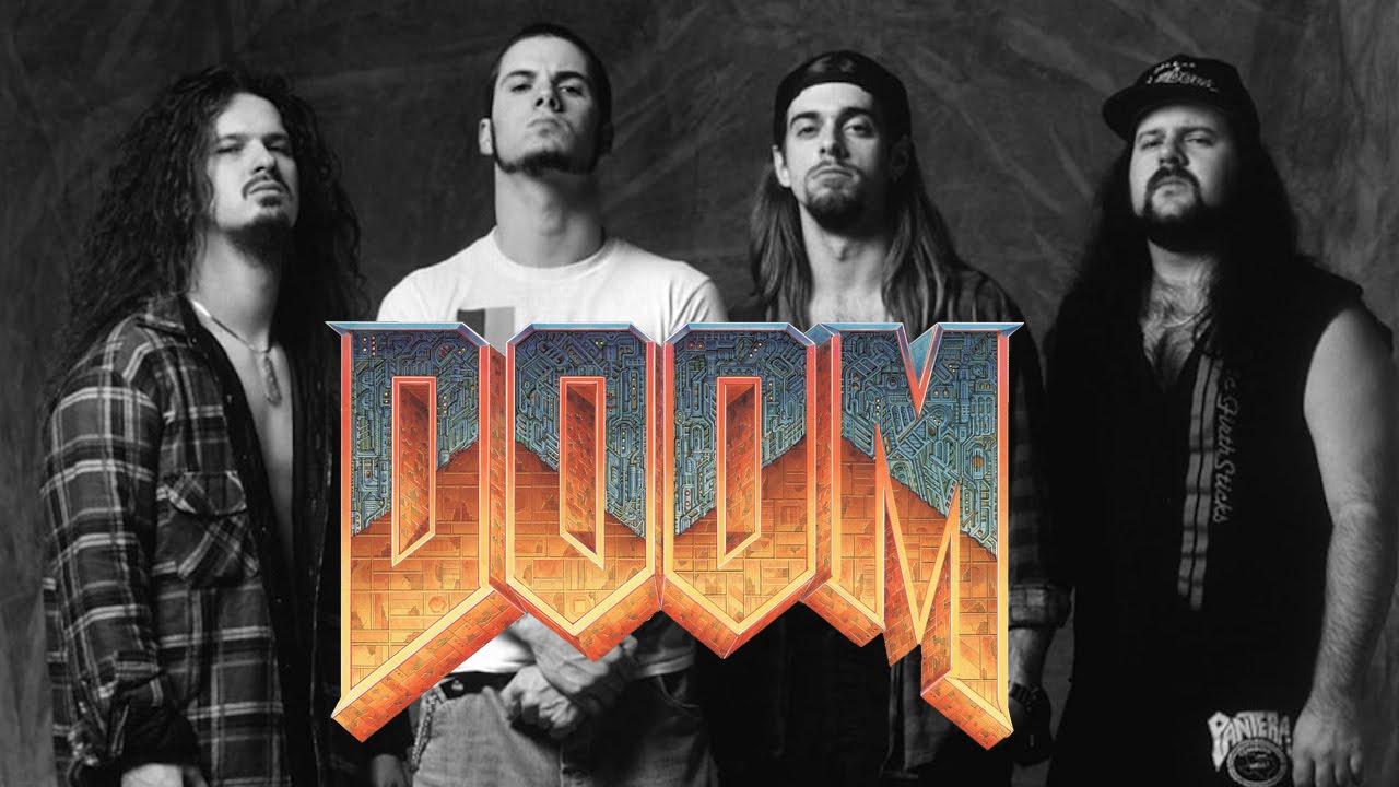 The original Doom's soundtrack was inspired by Metallica