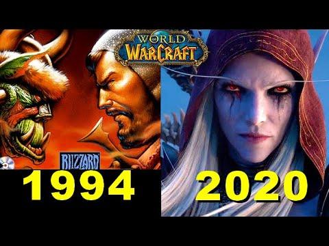 Evolution Of Warcraft Games  1994-2020