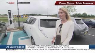 Sky News - Nissan Cribbs - Scrap Fuel Cars By 2040