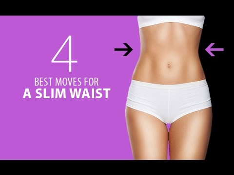 4 Best Exercises for a Slim Waist (TOUGH, BUT THEY WORK!!)