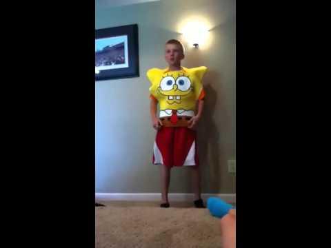 Kid sings musical doodle