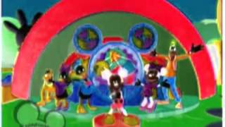 Mickey Mouse Clubhouse Hot Dog Song in G Major Backwards & Speeded Up