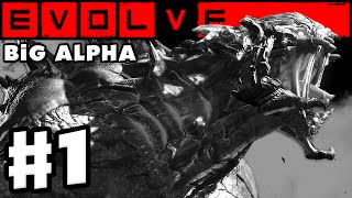 Evolve Big Alpha - Gameplay Walkthrough Part 1 - Hunting the Goliath! (1080p 60fps HD PC Gameplay)
