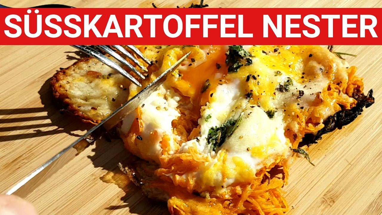 Spareribs Gasgrill Zeitler : ♨ grillblitz: leckere süßkartoffel nester vom gasgrill bbq