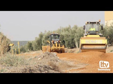 VÍDEO: El Ayuntamiento de Lucena destina 180.000 euros al arreglo y mantenimiento de caminos rurales