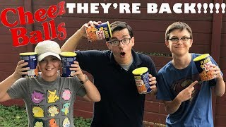 Planters Cheez Balls Are Back Return Cheezballs Taste Test Kids Try First Time Cheese Snack