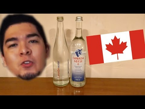 Jon Drinks Water #6457 Canada Geese Sparking Mineral Water VS CANADAwater Spring Water