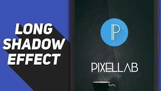 How To Make A Long Shadow Effect On Your Android Device!