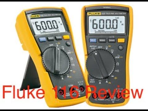 Fluke 116 HVAC Multimeter Review