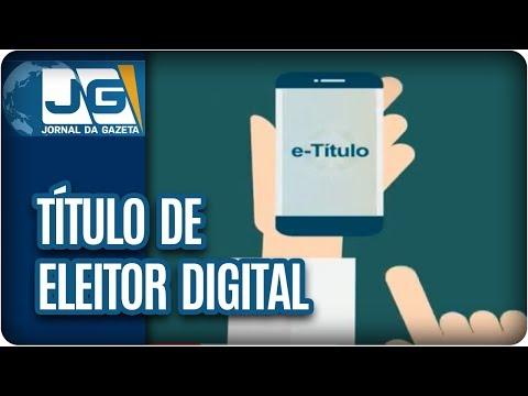 Título de Eleitor em versão digital