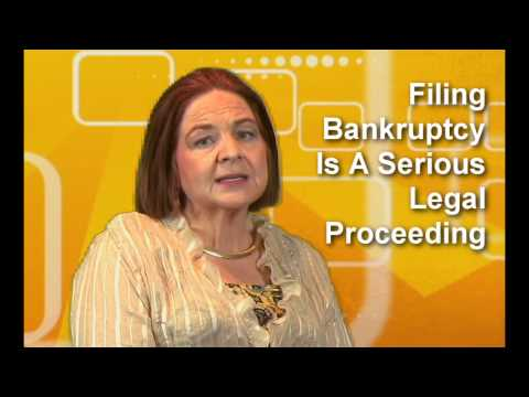 Five Things Never To Do When Filing Bankruptcy