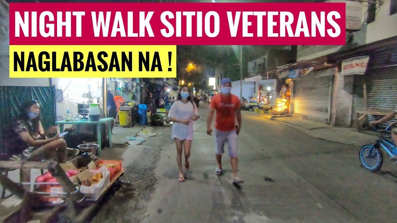 NAGLABASAN NA! SITIO VETERANS BAGONG SILANGAN | NIGHT WALK METRO MANILA UPDATE