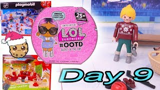 Day 9 ! LOL Surprise - Playmobil - Schleich Animals Christmas Advent Calendar - Cookie Swirl C