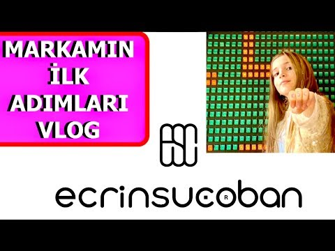 Marka Kuruyorum 😍Girişimcilik Vlog. Ecrin Su Çoban